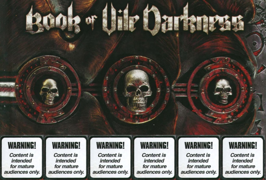 The Extremely Mature Horrors of D&D's Book of Vile Darkness